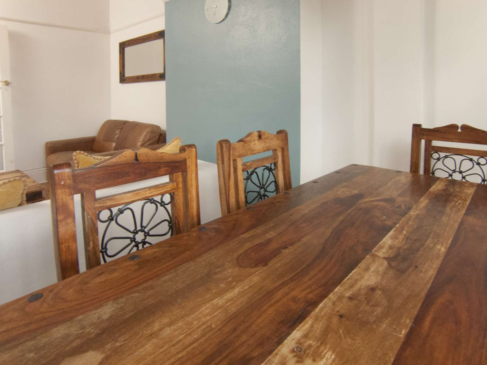 Beautiful solid wood dinning table