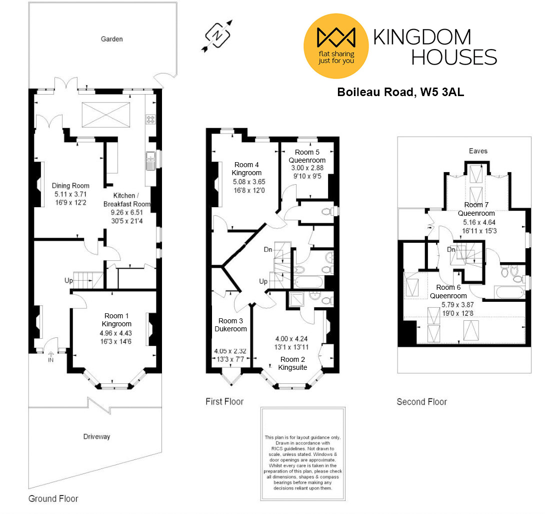 Floor plan - Pick your room!