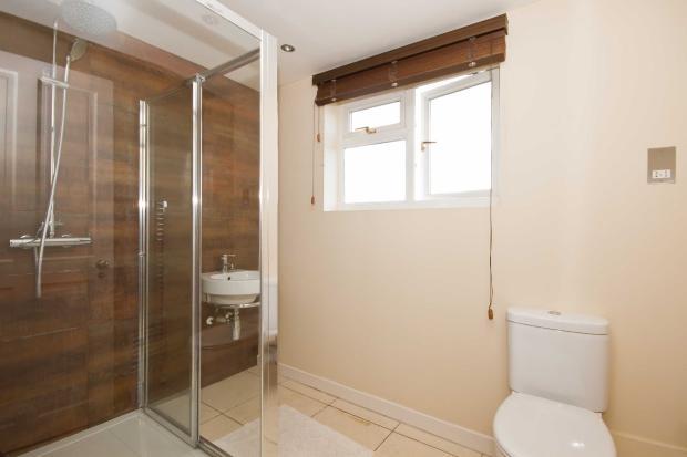 Shared bathroom in loft