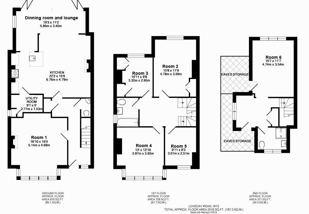 Floor plan - Pick your room!